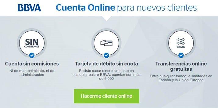 contratar cuenta online