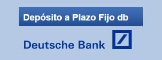 Deutsche Bank lanza 2 depósitos al 1% de interés