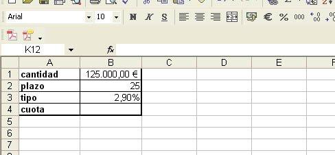 calculo cuotas hipoteca: