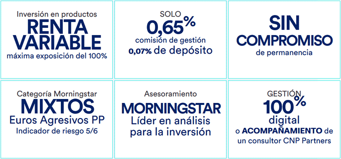 Plan CNP Partners Morningstar Dinámico