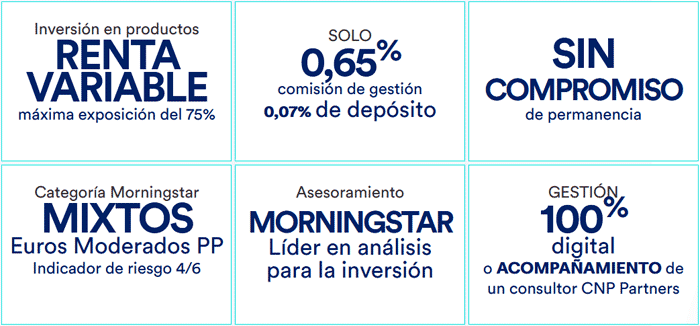 CNP Partners Morningstar Moderado