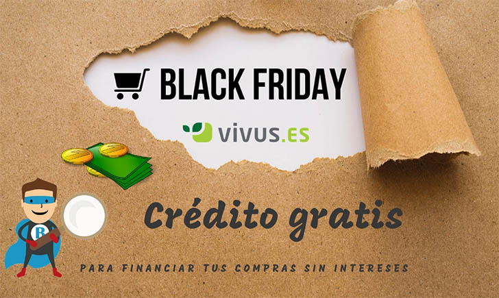 pedir crédito sin intereses Black Friday