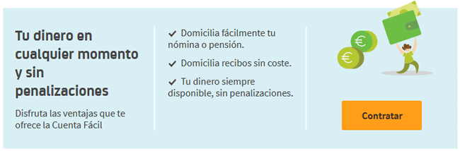 Cuenta Fácil de Bankia