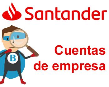 Cuentas de empresa del Santander