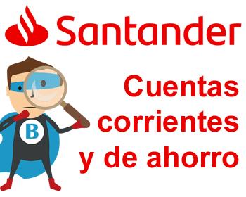 Cuentas del banco Santander