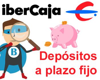 Depósitos a plazo fijo de Ibercaja