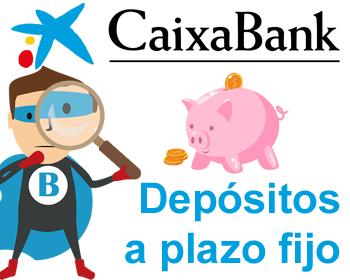 Depósitos a plazo fijo de Caixabank