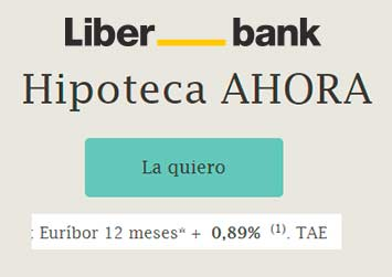 hipoteca ahora variable Liberbank