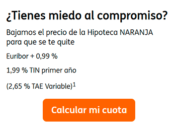Hipoteca Naranja Variable de ING