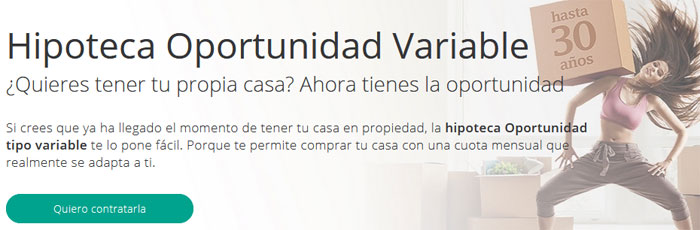 Hipoteca Oportunidad Variable de Liberbank