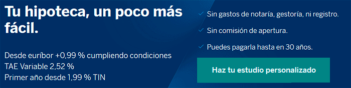 Hipoteca Variable del BBVA