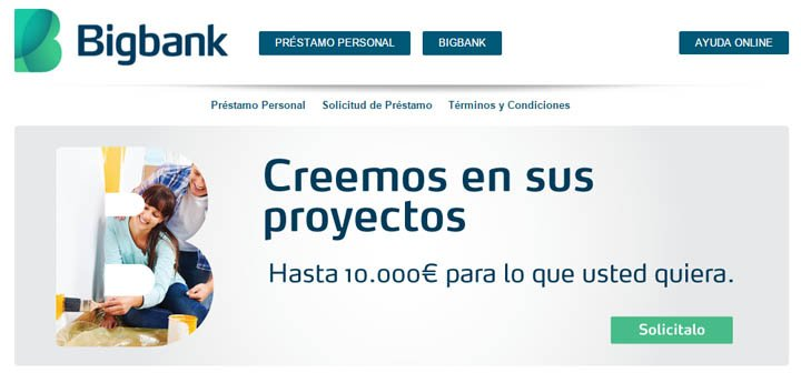 Creditos bigbank