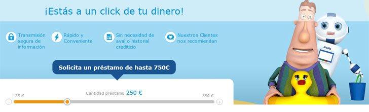 Kredito24, préstamos con Asnef.