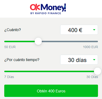 OK Money créditos