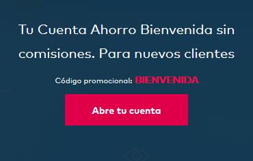 Cuenta Ahorro Bienvenida Openbank