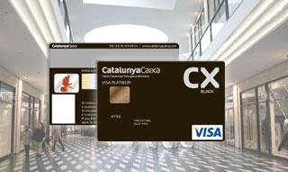 Tarjeta De Crédito Visa Platinum Black De Catalunya Caixa