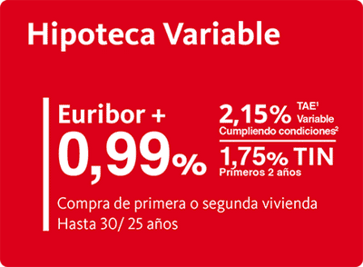Hipoteca variable del banco santander for Hipoteca fija santander