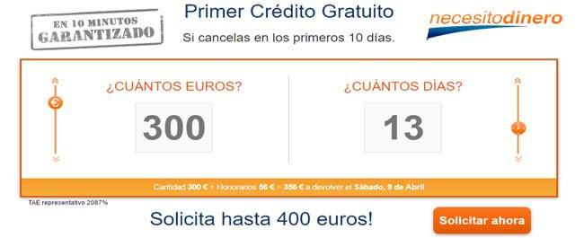 necesito 400 euros urgente