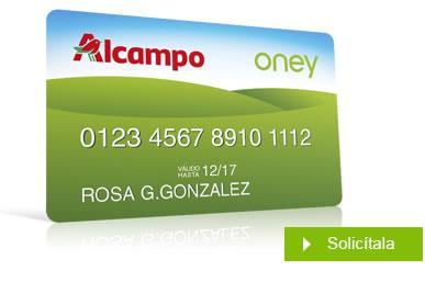 alcampo tarjetas amazon