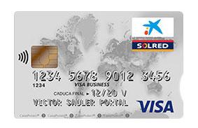 Tarjeta De Crédito Visa Classic Business Solred De La Caixa