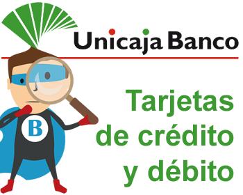 Tarjetas bancarias de Unicaja