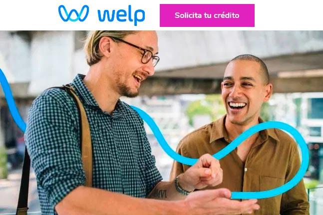 Préstamos rápidos Welp