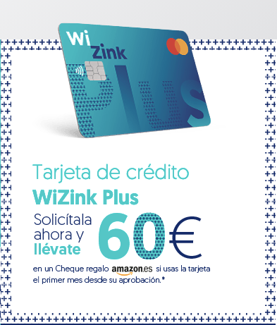 &0 € Amazon con Wizink Plus