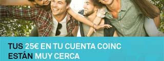 Plan Amigo de Coinc, 25 euros para cada uno